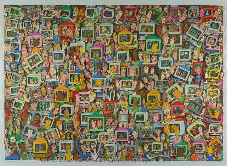 JAMES RIZZI: TOUCH SOMEONE